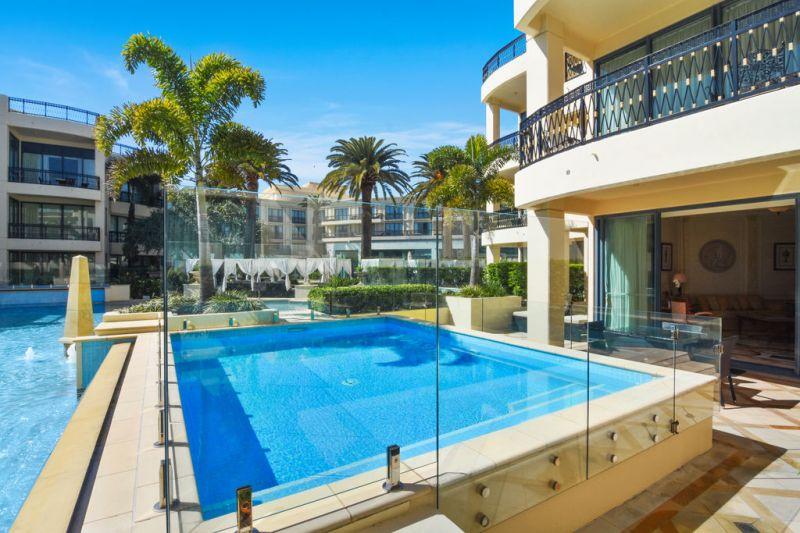 Glamorous Ground Floor Palazzo Versace Condo with Private Pool
