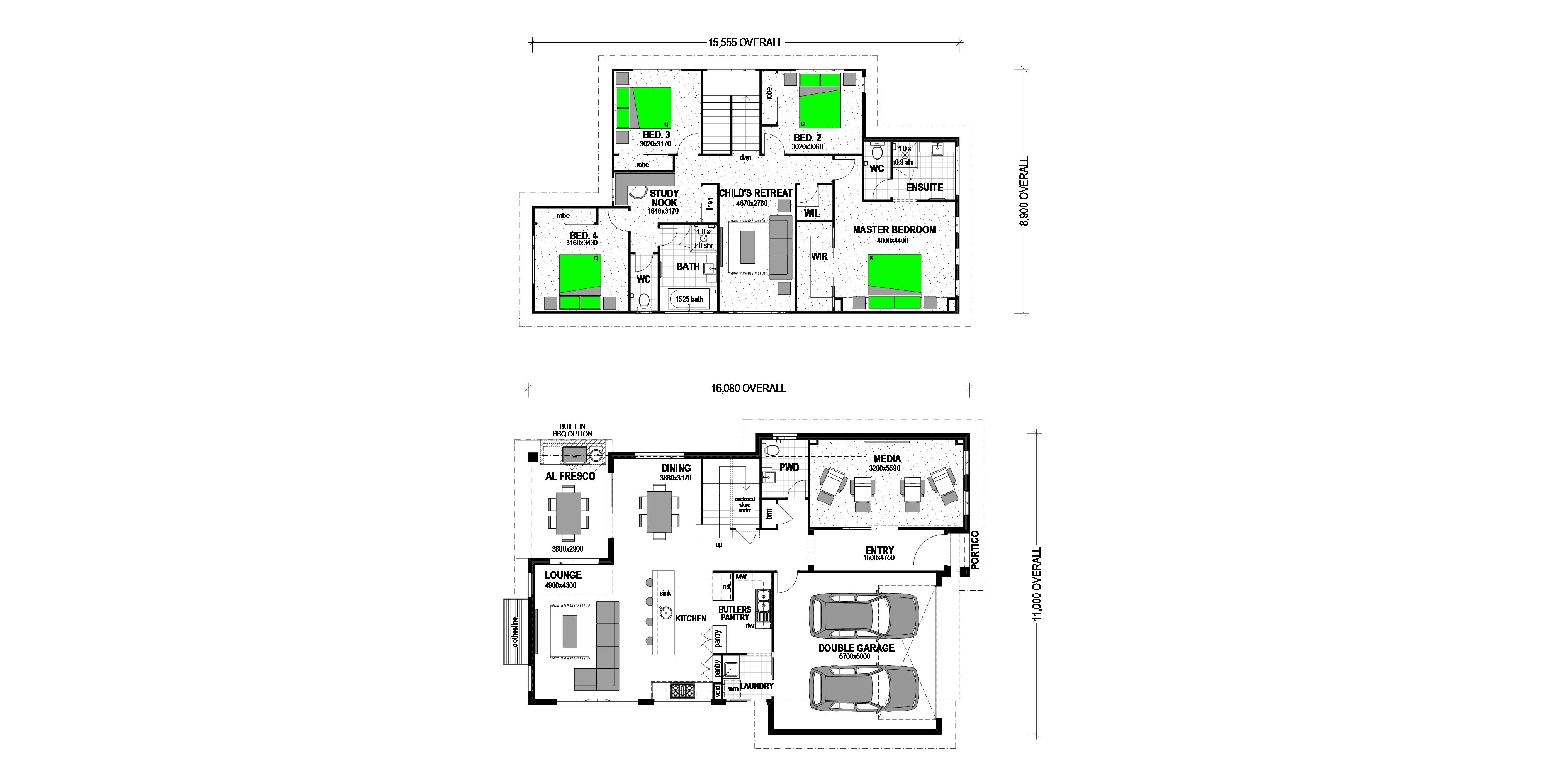 LOT 413 SOVEREIGN POCKET DEEBING HEIGHTS Floorplan