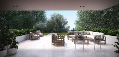 Luxury On The Park - Over-sized Garden Apartment