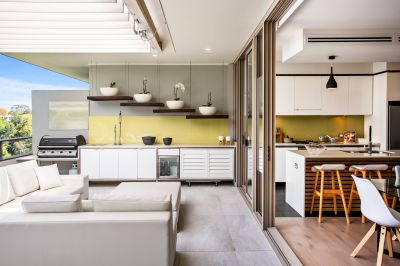 Space, Light and Lifestyle In A Modern Terrace Apartment