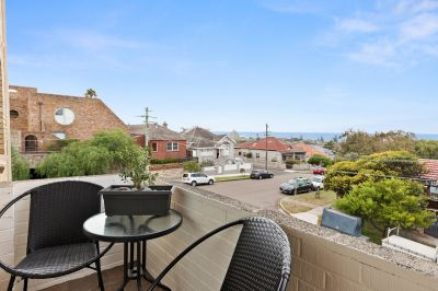 A perfect two bedroom unit, NE aspect and water views!