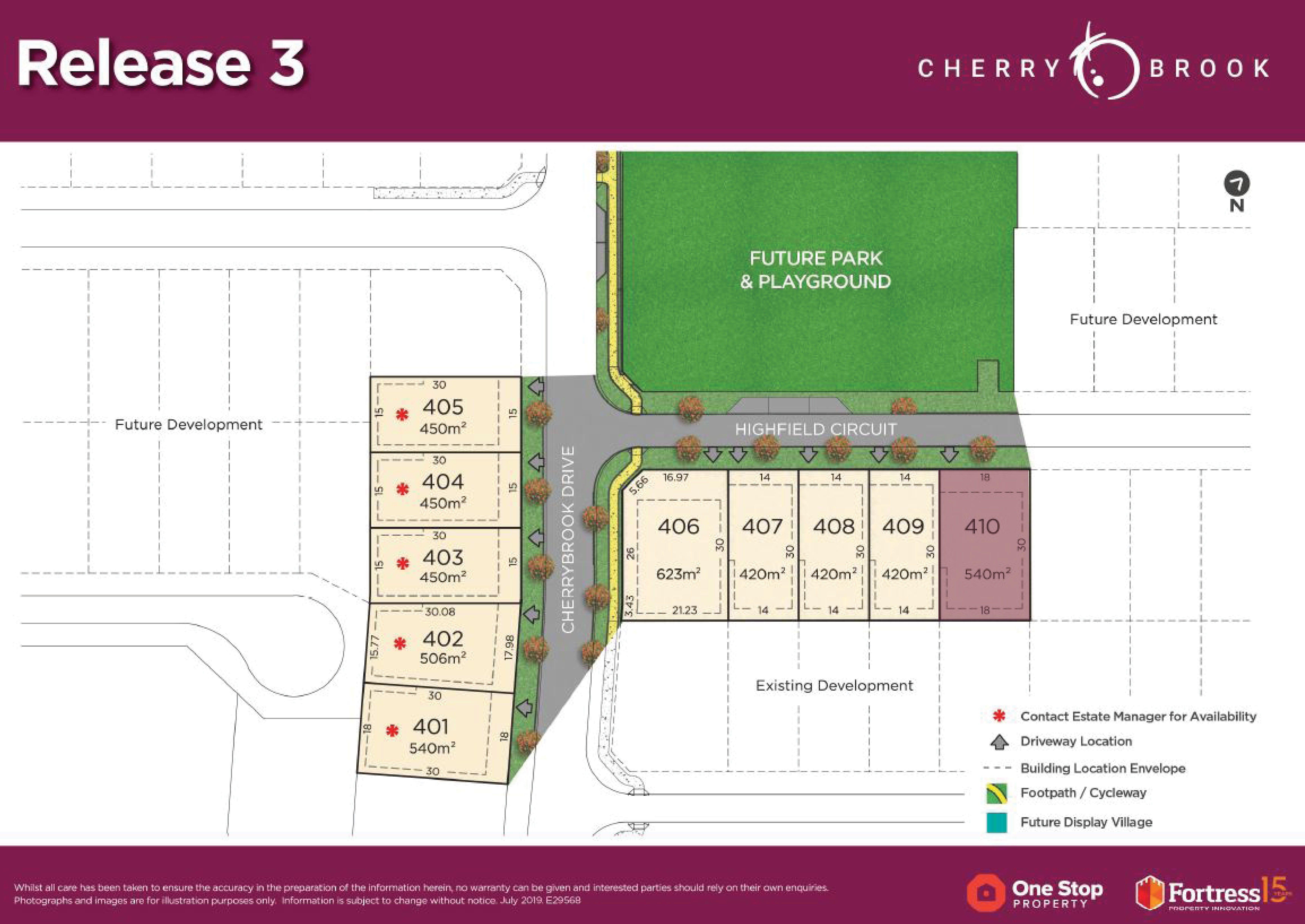 Lot 410 Highfield Circuit, Bentley Park QLD 4869