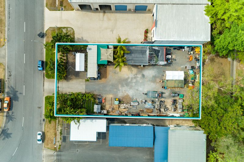 THIS IS IT!  Industrial Land - 1242m2 currently under lease