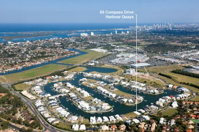 East Facing Waterfront Duplex Block with Long Canal Views  - The Last in the Estate!