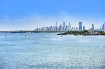 Incredible Views Over Broadwater to Surfers Paradise from Top-Level Apartment - A Must See!