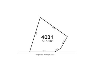 Bardia, LOT 4031 Proposed Road | Bardia