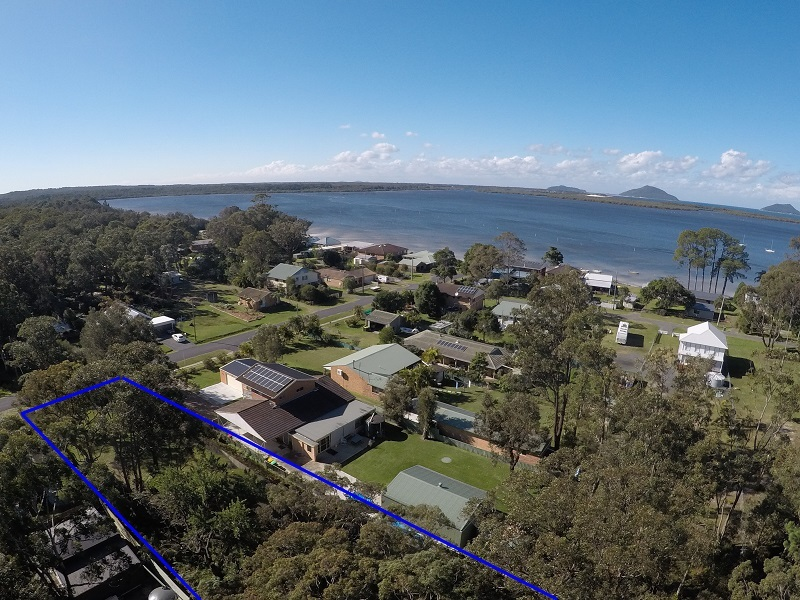 BUILDING BLOCK 170m to the shores of Port Stephens