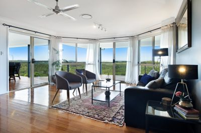 Best Acreage Panoramic Ocean Views on the Gold Coast and Degrees Cooler!