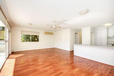 Spacious ground floor apartment in great location.