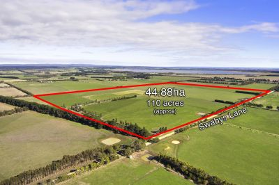 Highly Productive Farm Land    44.88ha 110 acres approx.