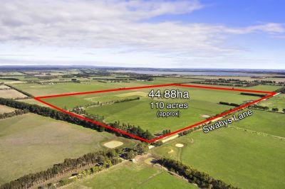 Highly Productive Farm Land    44.88ha 110 acres approx.