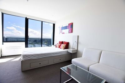 CityTempo: Spacious Furnished Studio Apartment with Amazing View of the City!