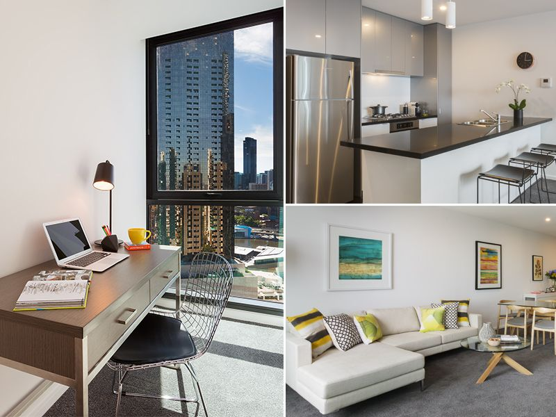 Brilliantly Positioned, Modern and Spacious 2 Bedroom 2 Bathroom Plus Study Apartment in Stylish Southbank!