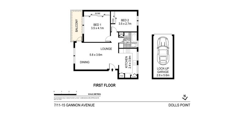 7/11-15 Gannon Avenue DOLLS POINT 2219