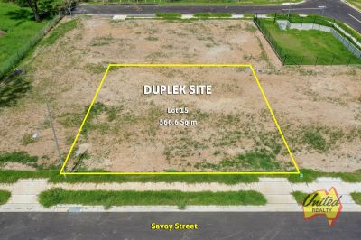 Duplex Site (STCA) - Wide Block Approx. 566 Sq.m!