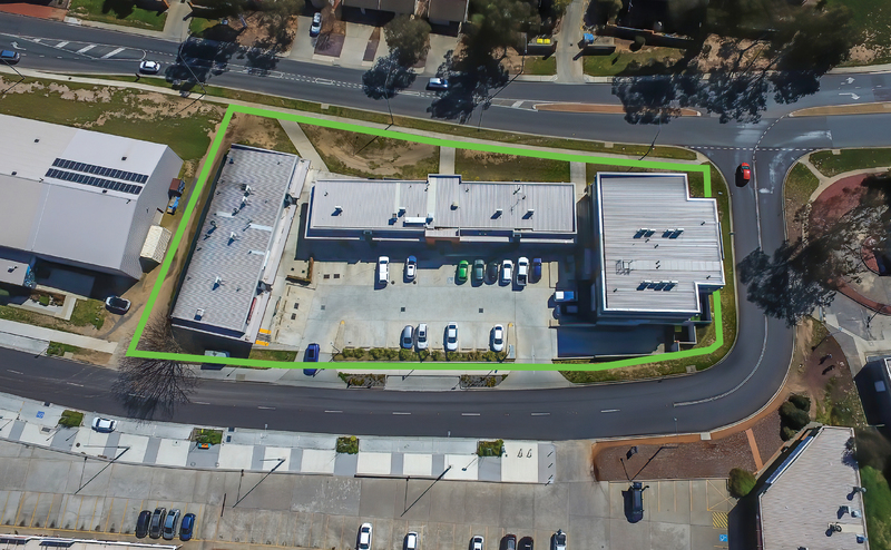 FULLY LEASED MIXED USE INVESTMENT