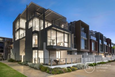 The most coveted waterfront townhouse in the Docklands