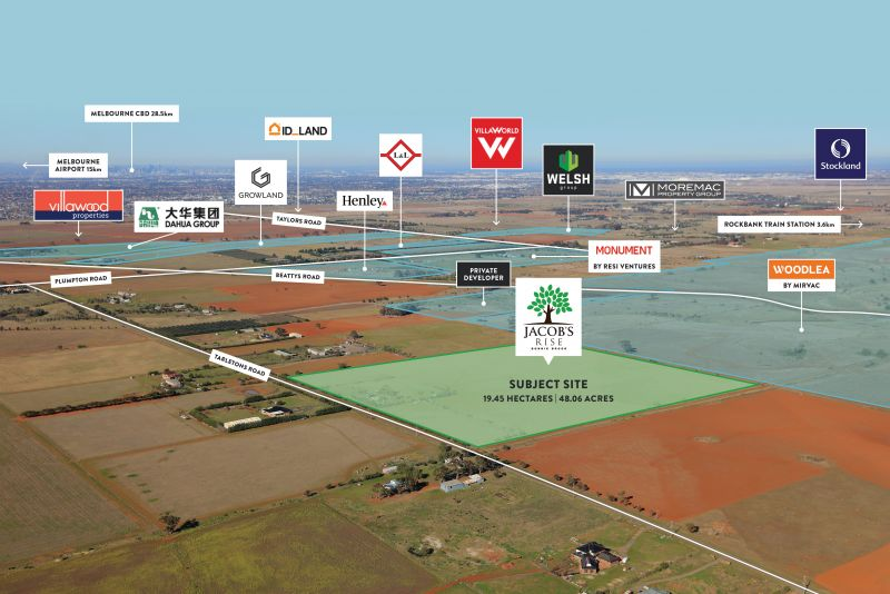 19.45 Ha residential site offered on 6 year settlement