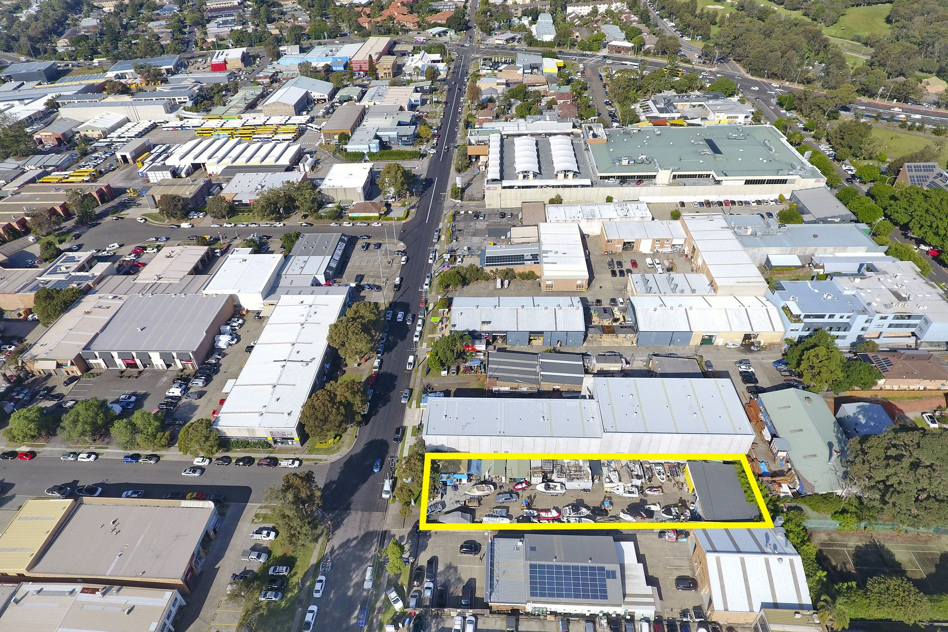 LARGE INDUSTRIAL SITE IN A HIGH PROFILE LOCATION