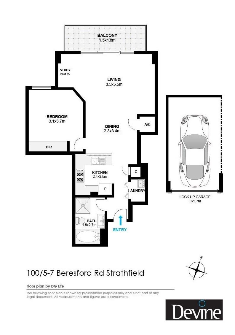 100/5-7 Beresford Road , Strathfield