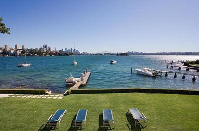 World-class waterfront trophy home, magnificent views, boat berth
