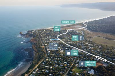 GREAT OCEAN ROAD DEVELOPMENT SITE COMPLETE WITH SPECTACULAR VIEWS AND PERMITS FOR 5 HOMES