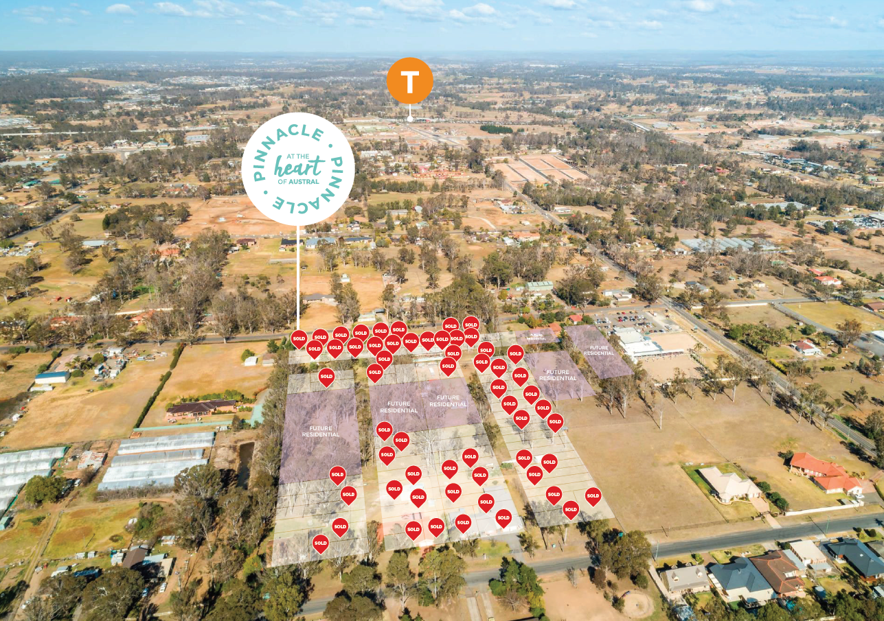 Best Located Land in Austral Now Selling