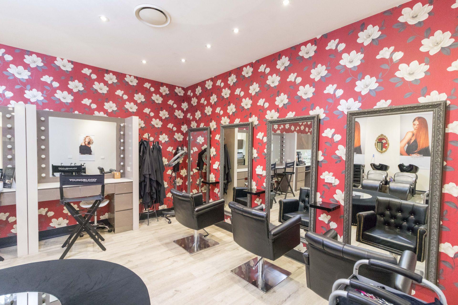 Fully Operational Hair Salon