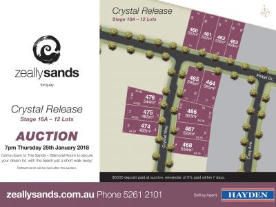 0 Zeally Sands Estate, Torquay VIC 3228
