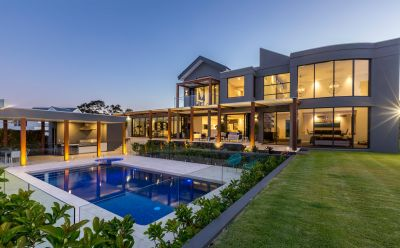 Unique architect designed home on elevated 1876m2 block with sweeping views