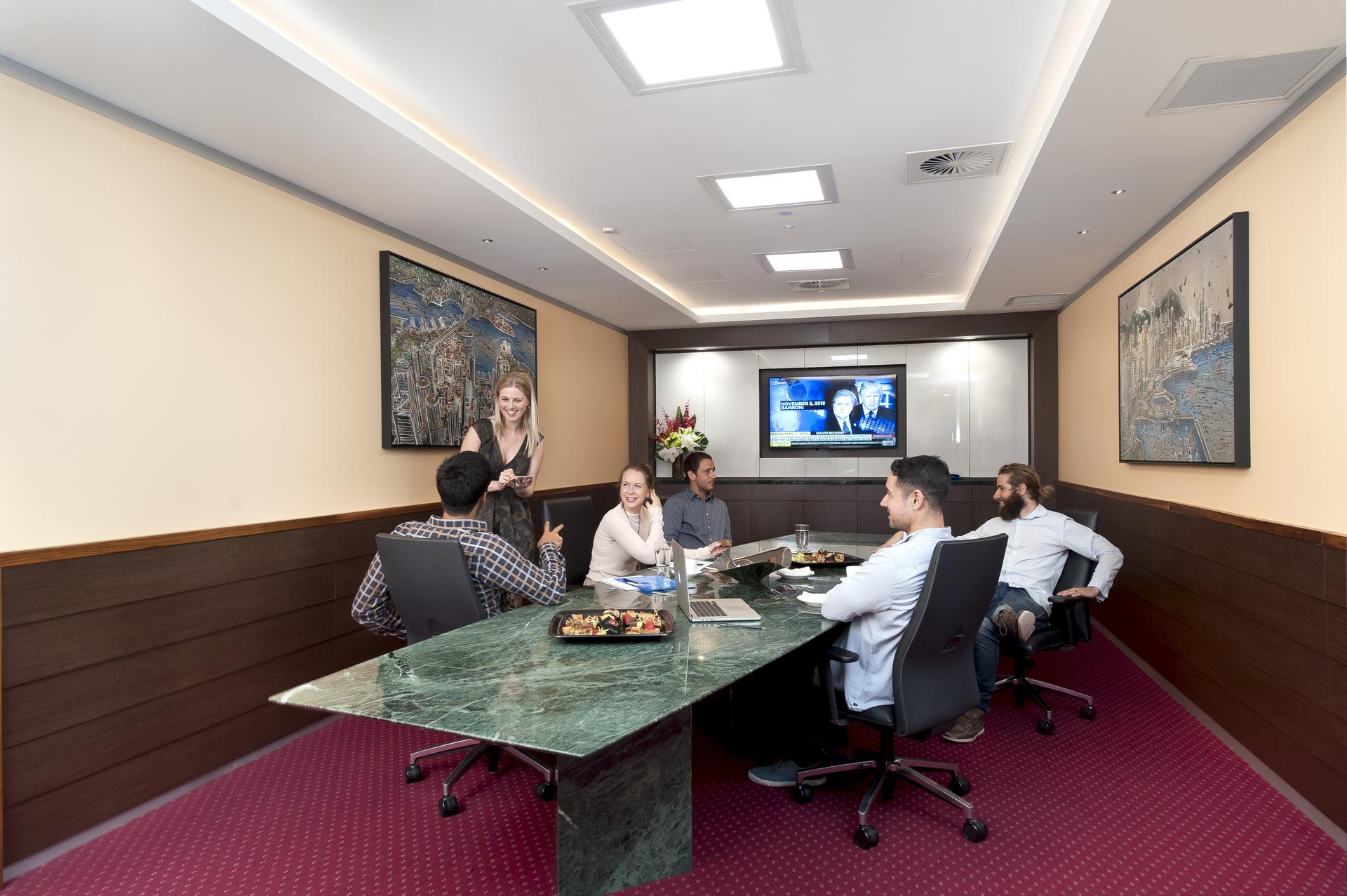 OFFICES IN SYDNEY'S LANDMARK BUILDING AT CIRCULAR QUAY.