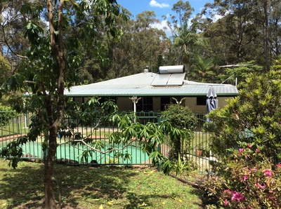 Peaceful country retreat at the foot of Mt Coochin