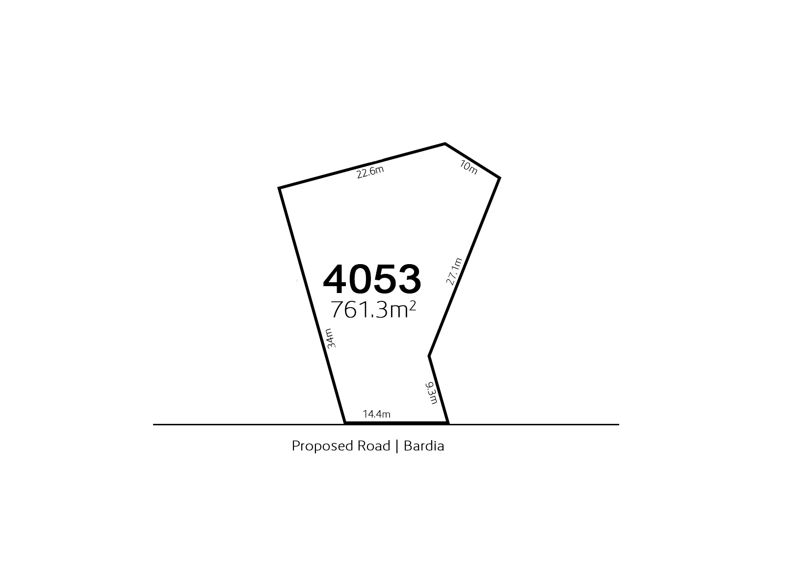 Bardia LOT 4053 Proposed Road | Bardia