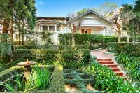 Light quiet private family residence with multiple informal and formal living spaces overlooking lush gardens and flowing to poolside entertaining.