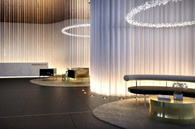 Australia 108 : Luxurious One Bedroom Apartment in Melbourne's Tallest Tower!
