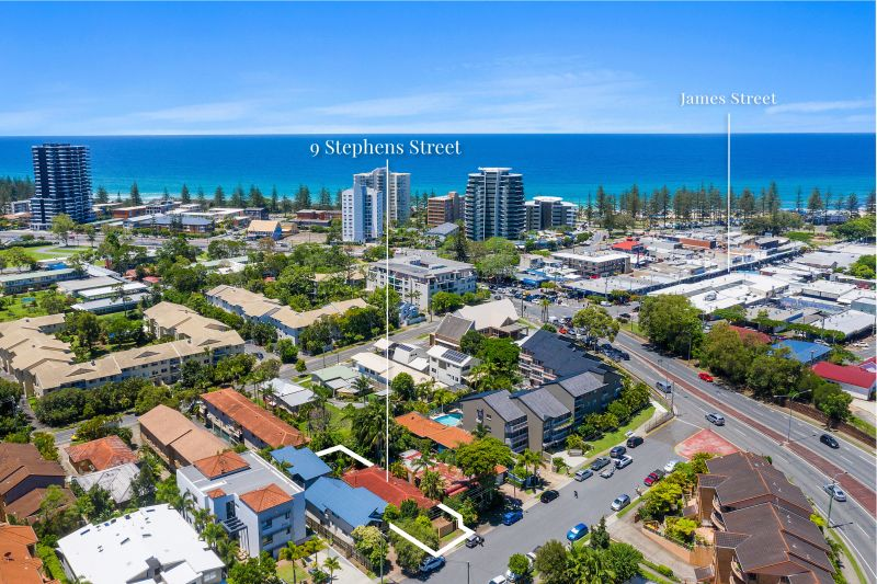Build your dream home in the heart of Burleigh Heads