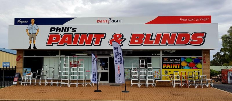 Phill's Blinds & Awnings And Cowra Paint Plus