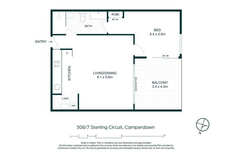 308/7 Sterling Circuit Camperdown 2050