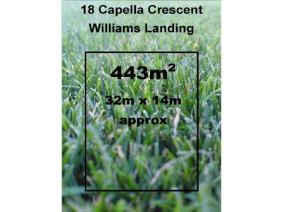An awesome opportunity to secure vacant land in Williams Landing- build your dream home (STCA)