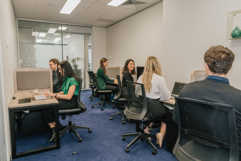 18-person private workspace in the award-winning Brookfield Place building