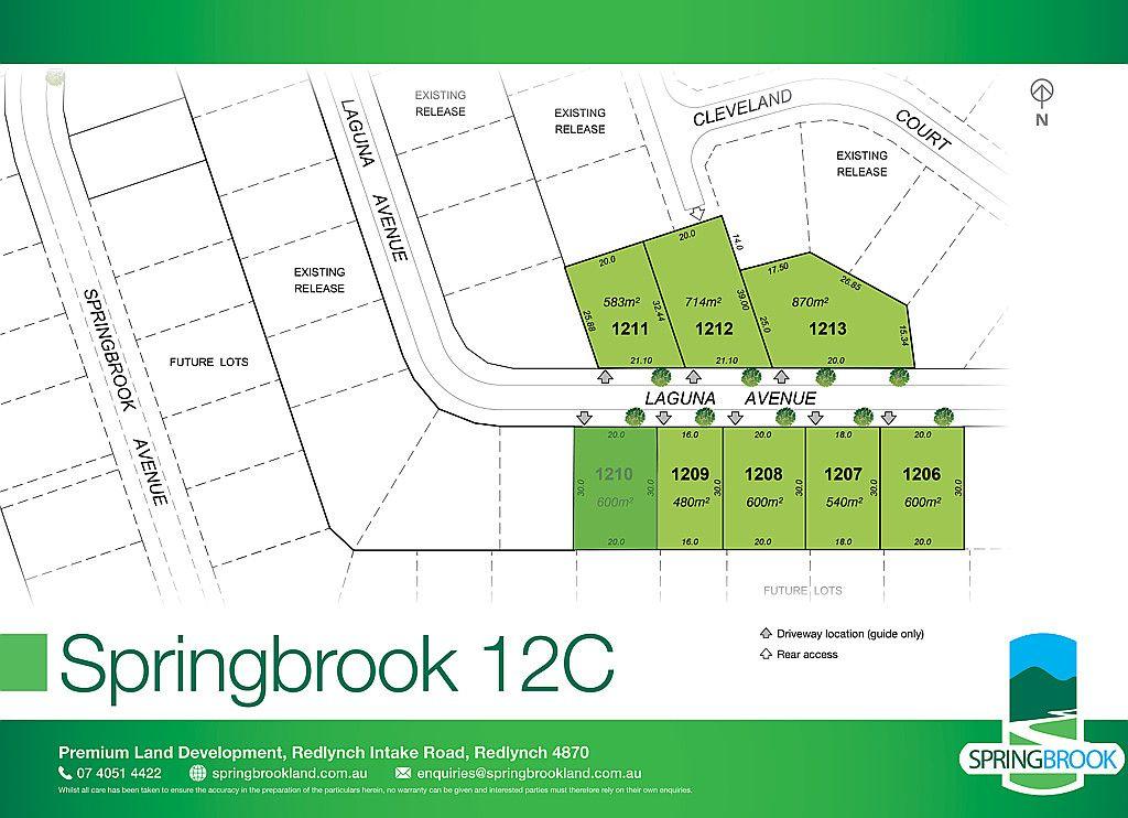 Lot 1210 Laguna Avenue, Redlynch QLD 4870
