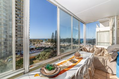 Tightly Held Beachfront Apartment