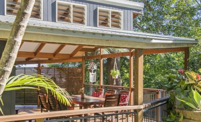 Character home with alfresco living