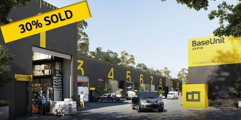 18 PREMIUM INDUSTRIAL WAREHOUSE UNITS ~ CONSTRUCTION COMMENCING SHORTLY