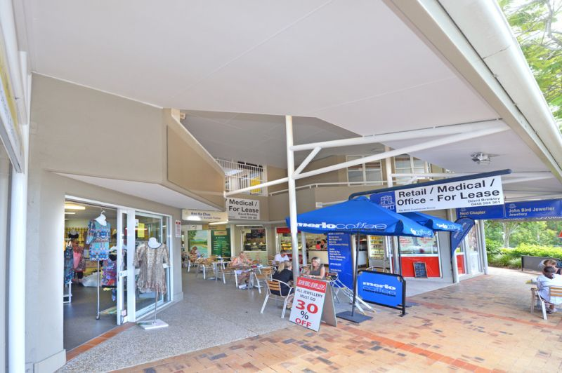 Retail Shop At Front Of Retail Complex