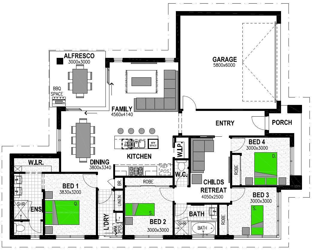 LOT 11 WAKEFUL CRESCENT DROUIN Floorplan