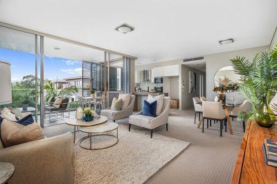 Designer apartment living in an ultra-convenient garden setting