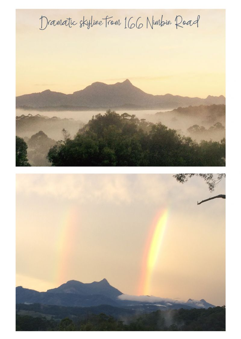 WAKE UP TO FIRST SUN ON MOUNT WARNING