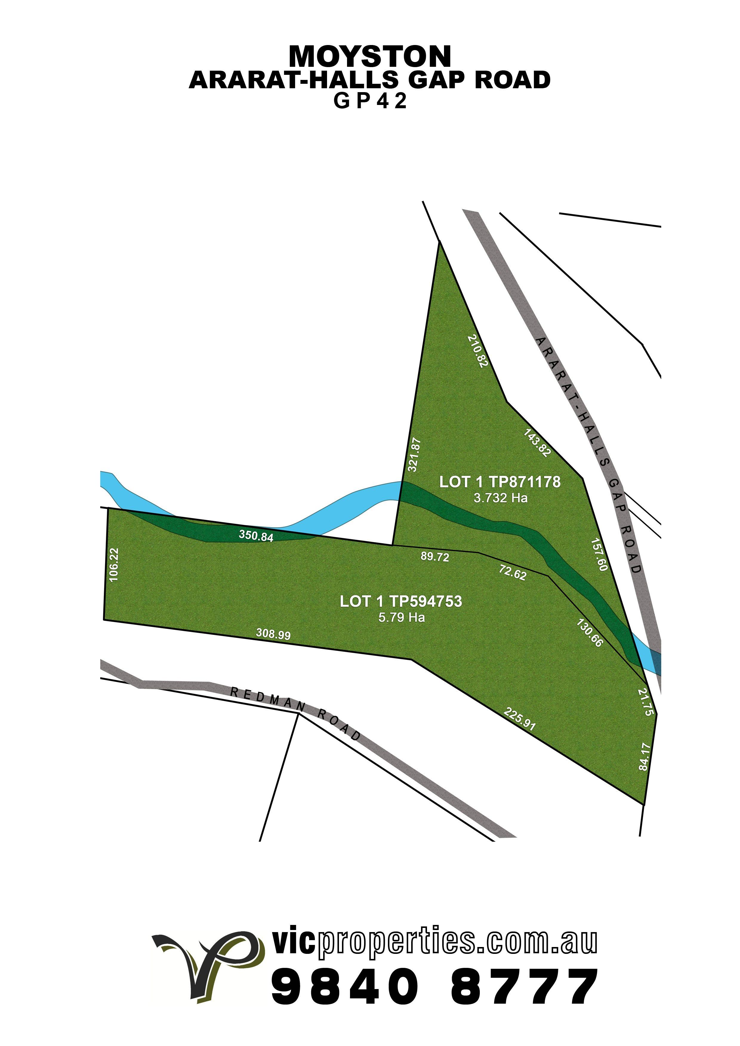 Lot 1 Nth/ Ararat-Halls Gap Road, Moyston VIC 3377