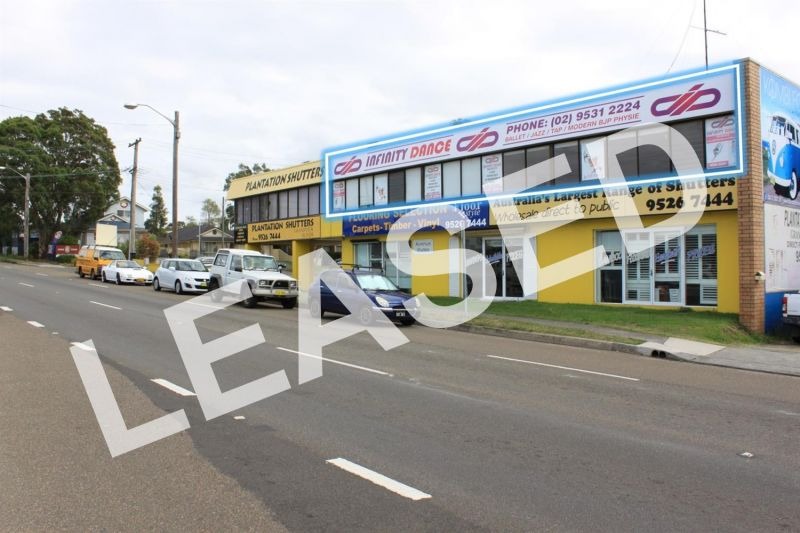 LEASED BY RYAN MCMAHON - 160M² SHOWROOM ON CAPTAIN COOK DRIVE